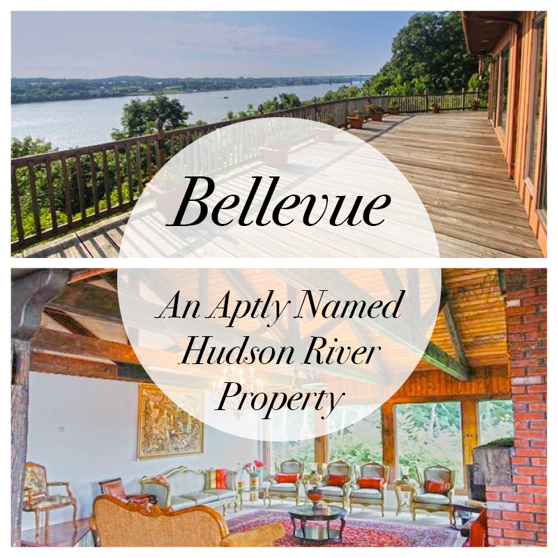80 Bellevue - An Aptly Named Hudson River Property | Hudson River Real Estate photo