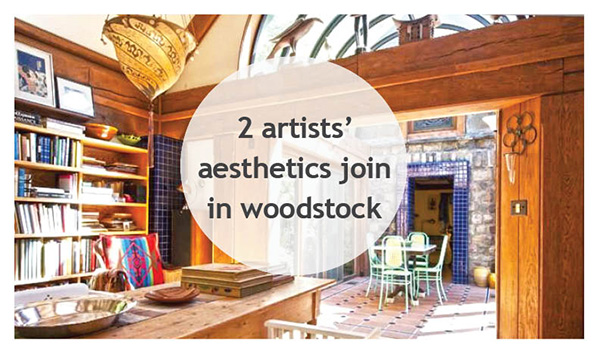 Woodstock New York Artists' Home | Perfectly Woodstock photo