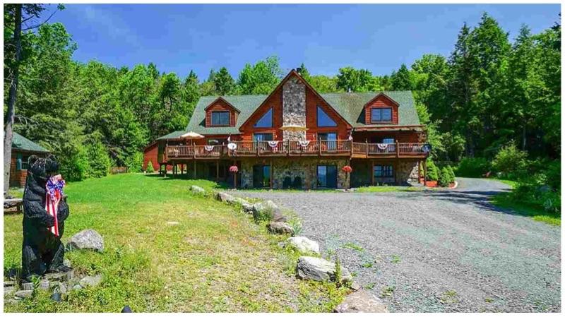 Log Home Upstate New York Real Estate