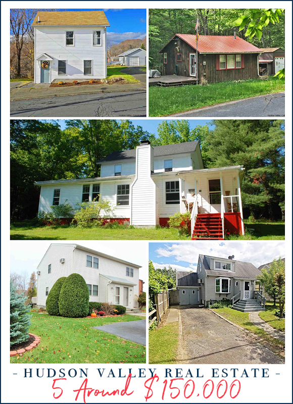 5 Homes Around $150,000 | Hudson Valley Real Estate photo