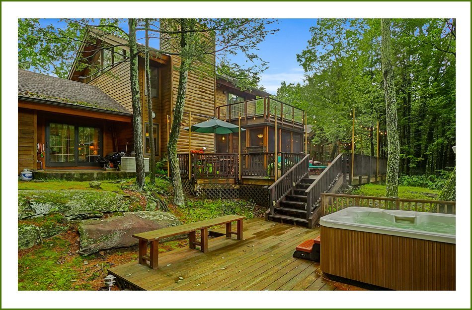 Ulster County Real Estate For Sale Catskills Hot tub