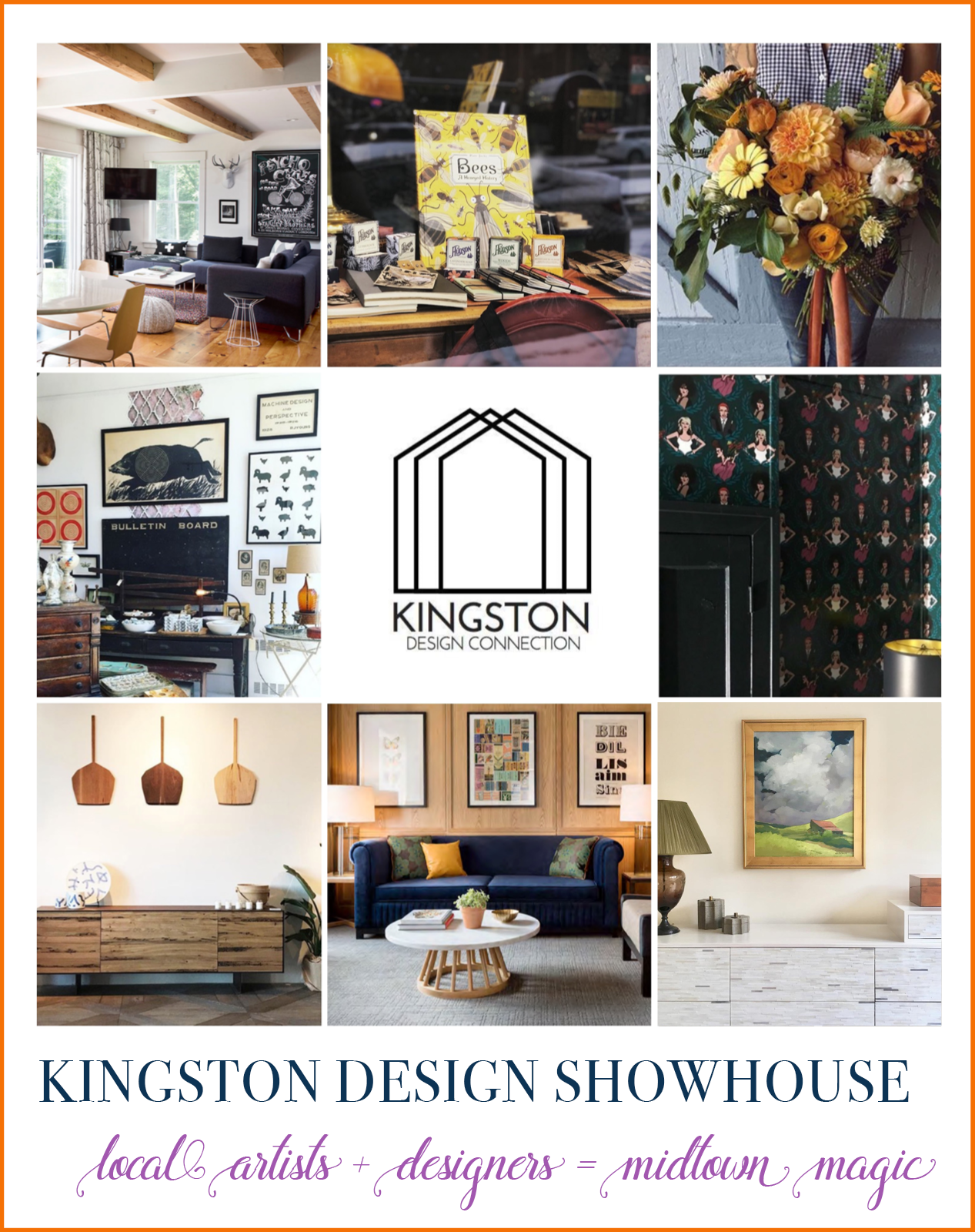 The Kingston Design Connection | A Design Showhouse in Kingston NY photo