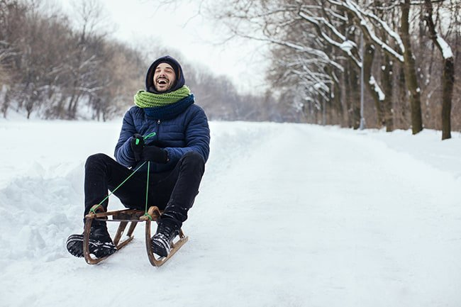Upstate Sledding Hills | Kingston Woodstock Rhinebeck photo