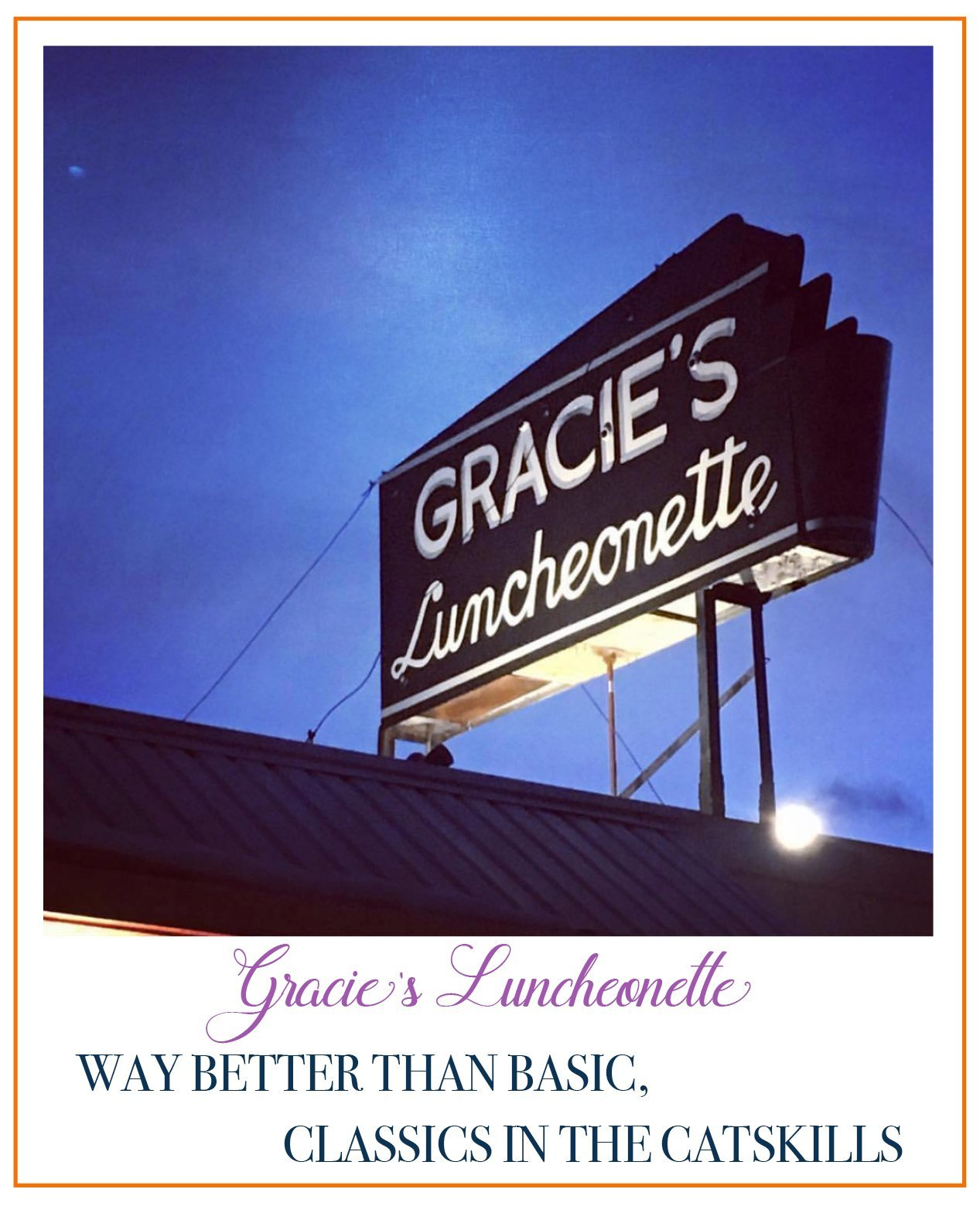 Gracie's Luncheonette | The Upstate Update photo