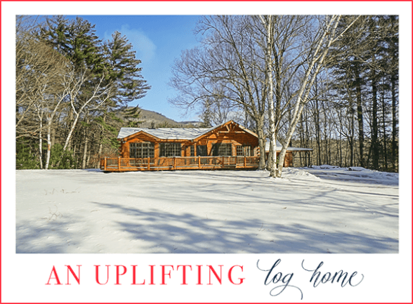 Cozy and Current Log Home | Bearsville NY Real Estate photo