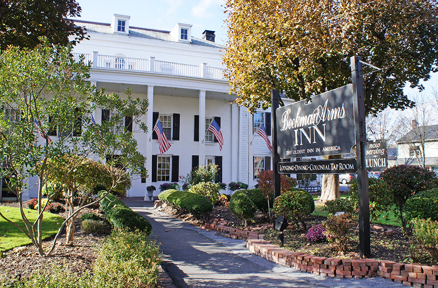 Beekman Arms At The Center Of Rhinebeck Is Oldest Continually Operating Hotel In U S