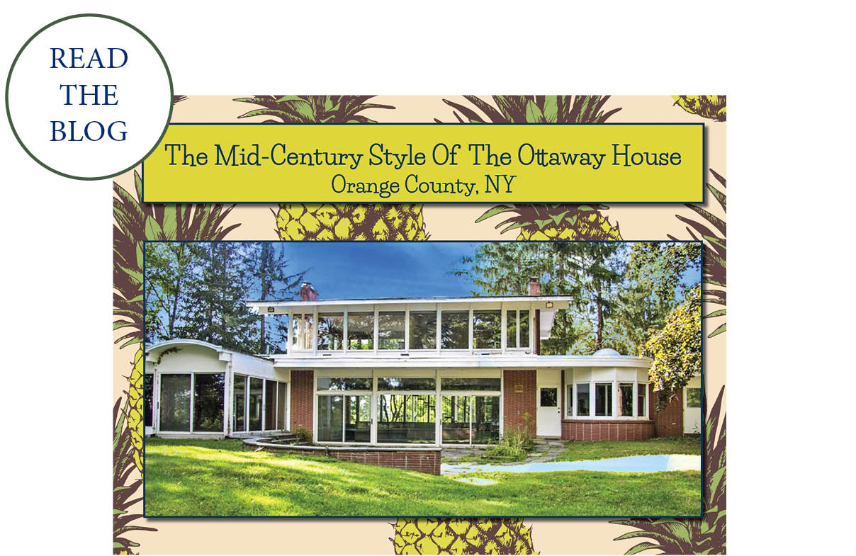 Upstate NY Mid Century Modern | Orange County Real Estate photo