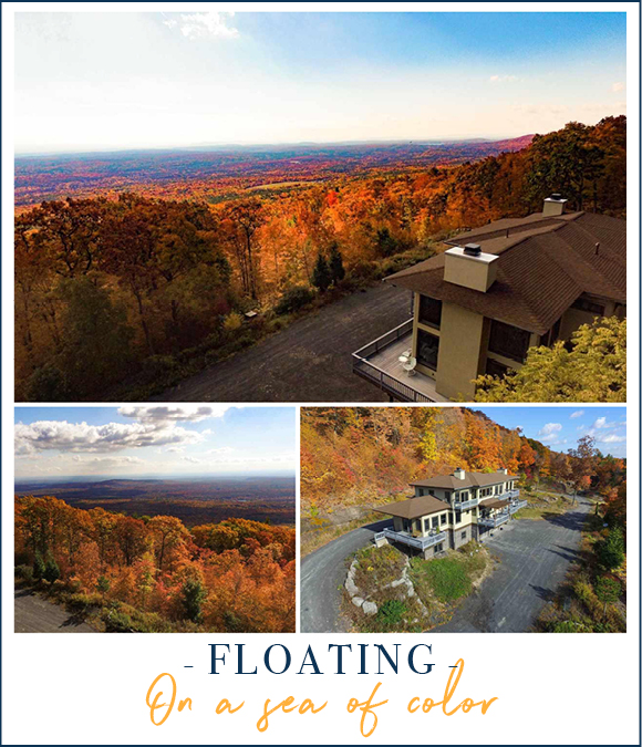Floating on A Sea of Color | 39 Raycliffe Drive Woodstock NY Property For Sale photo